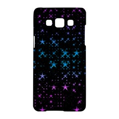 Stars Pattern Seamless Design Samsung Galaxy A5 Hardshell Case  by Amaryn4rt