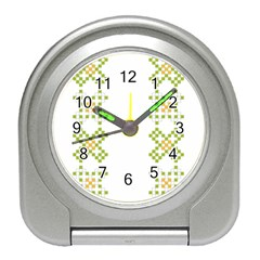 Vintage Pattern Background  Vector Seamless Travel Alarm Clocks by Amaryn4rt
