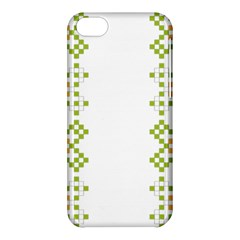 Vintage Pattern Background  Vector Seamless Apple Iphone 5c Hardshell Case by Amaryn4rt