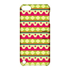 Tribal Pattern Background Apple Ipod Touch 5 Hardshell Case With Stand by Amaryn4rt