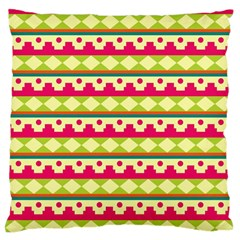 Tribal Pattern Background Standard Flano Cushion Case (one Side) by Amaryn4rt