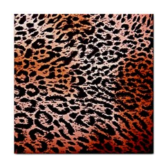Tiger Motif Animal Tile Coasters