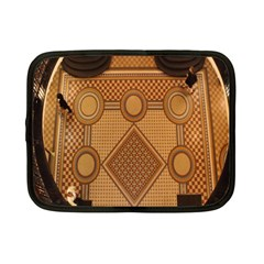 The Elaborate Floor Pattern Of The Sydney Queen Victoria Building Netbook Case (small)  by Amaryn4rt