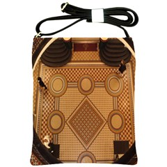The Elaborate Floor Pattern Of The Sydney Queen Victoria Building Shoulder Sling Bags by Amaryn4rt