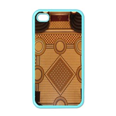 The Elaborate Floor Pattern Of The Sydney Queen Victoria Building Apple Iphone 4 Case (color) by Amaryn4rt