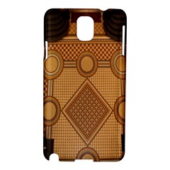 The Elaborate Floor Pattern Of The Sydney Queen Victoria Building Samsung Galaxy Note 3 N9005 Hardshell Case by Amaryn4rt