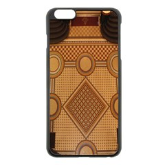 The Elaborate Floor Pattern Of The Sydney Queen Victoria Building Apple Iphone 6 Plus/6s Plus Black Enamel Case by Amaryn4rt
