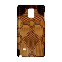The Elaborate Floor Pattern Of The Sydney Queen Victoria Building Samsung Galaxy Note 4 Hardshell Case by Amaryn4rt