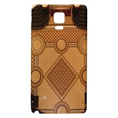 The Elaborate Floor Pattern Of The Sydney Queen Victoria Building Galaxy Note 4 Back Case by Amaryn4rt