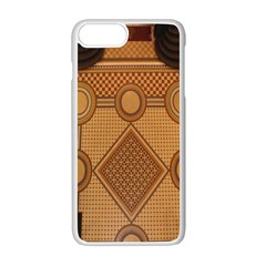 The Elaborate Floor Pattern Of The Sydney Queen Victoria Building Apple Iphone 7 Plus White Seamless Case by Amaryn4rt