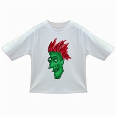 Crazy Man Drawing  Infant/toddler T Shirts