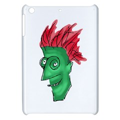 Crazy Man Drawing  Apple Ipad Mini Hardshell Case by dflcprintsclothing