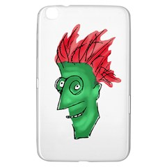 Crazy Man Drawing  Samsung Galaxy Tab 3 (8 ) T3100 Hardshell Case  by dflcprintsclothing