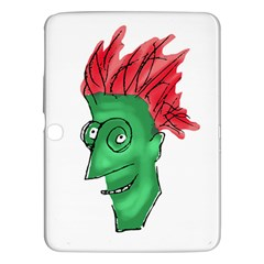 Crazy Man Drawing  Samsung Galaxy Tab 3 (10 1 ) P5200 Hardshell Case  by dflcprintsclothing