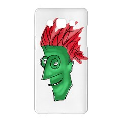 Crazy Man Drawing  Samsung Galaxy A5 Hardshell Case  by dflcprintsclothing
