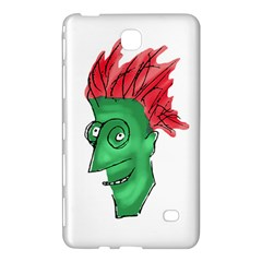 Crazy Man Drawing  Samsung Galaxy Tab 4 (8 ) Hardshell Case  by dflcprintsclothing