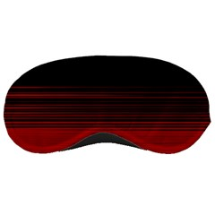 Abstract Of Red Horizontal Lines Sleeping Masks