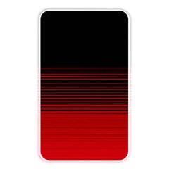 Abstract Of Red Horizontal Lines Memory Card Reader by Amaryn4rt