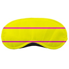 Background Image Horizontal Lines And Stripes Seamless Tileable Magenta Yellow Sleeping Masks