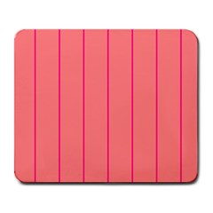 Background Image Vertical Lines And Stripes Seamless Tileable Deep Pink Salmon Large Mousepads by Amaryn4rt