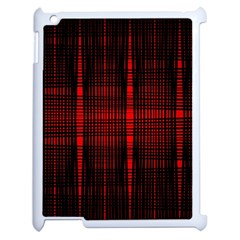 Black And Red Backgrounds Apple Ipad 2 Case (white)