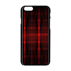Black And Red Backgrounds Apple Iphone 6/6s Black Enamel Case
