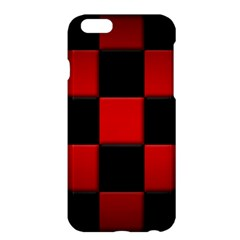 Black And Red Backgrounds Apple Iphone 6 Plus/6s Plus Hardshell Case by Amaryn4rt