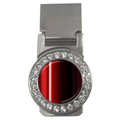 Black And Red Money Clips (cz)