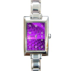 Circular Color Rectangle Italian Charm Watch by Amaryn4rt