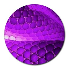 Circular Color Round Mousepads by Amaryn4rt