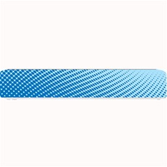 Blue Dot Pattern Small Bar Mats by Amaryn4rt