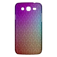 Blue And Pink Colors On A Pattern Samsung Galaxy Mega 5 8 I9152 Hardshell Case  by Amaryn4rt