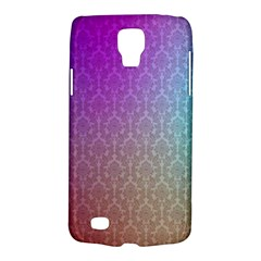 Blue And Pink Colors On A Pattern Galaxy S4 Active