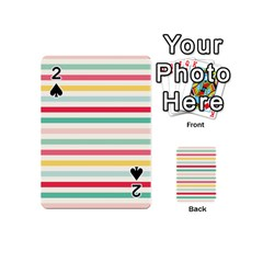 Papel De Envolver Hooray Circus Stripe Red Pink Dot Playing Cards 54 (mini)  by Amaryn4rt