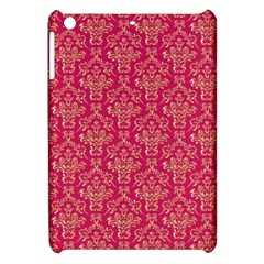 Damask Background Gold Apple Ipad Mini Hardshell Case