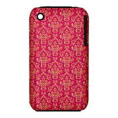 Damask Background Gold Iphone 3s/3gs by Amaryn4rt