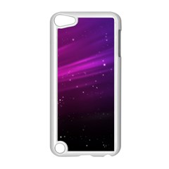 Purple Wallpaper Apple Ipod Touch 5 Case (white) by Amaryn4rt
