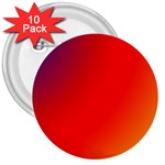 Rainbow Background 3  Buttons (10 pack)  Front