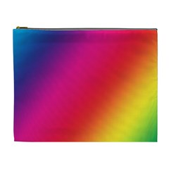 Rainbow Colors Cosmetic Bag (xl)
