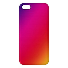 Rainbow Colors Apple Iphone 5 Premium Hardshell Case