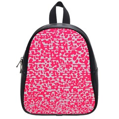 Template Deep Fluorescent Pink School Bags (small)  by Amaryn4rt