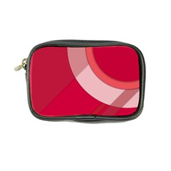Red Material Design Coin Purse by Amaryn4rt