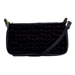 Smooth Color Pattern Shoulder Clutch Bags by Amaryn4rt