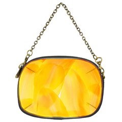Yellow Pattern Painting Chain Purses (one Side)  by Amaryn4rt