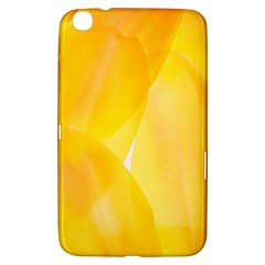 Yellow Pattern Painting Samsung Galaxy Tab 3 (8 ) T3100 Hardshell Case  by Amaryn4rt