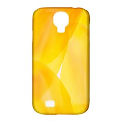 Yellow Pattern Painting Samsung Galaxy S4 Classic Hardshell Case (pc+silicone)