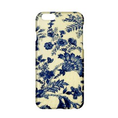 Vintage Blue Drawings On Fabric Apple Iphone 6/6s Hardshell Case by Amaryn4rt