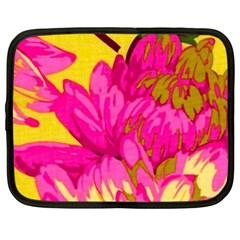 Beautiful Pink Flowers Netbook Case (xxl)  by Brittlevirginclothing