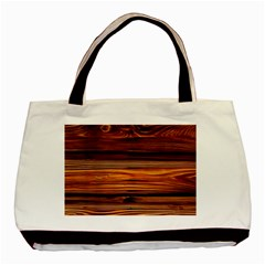 Old Wood Basic Tote Bag (two Sides) by Brittlevirginclothing