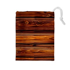 Old Wood Drawstring Pouches (large)